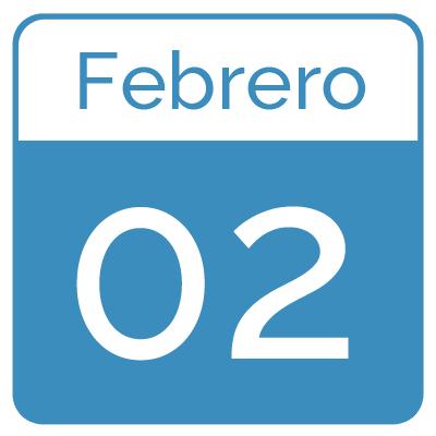 agenda febrero