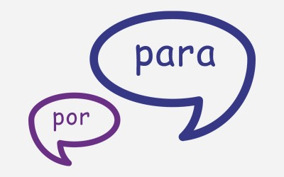 """""""POR"""" Y """"PARA"""": EXPRESAR OPINIONES"""